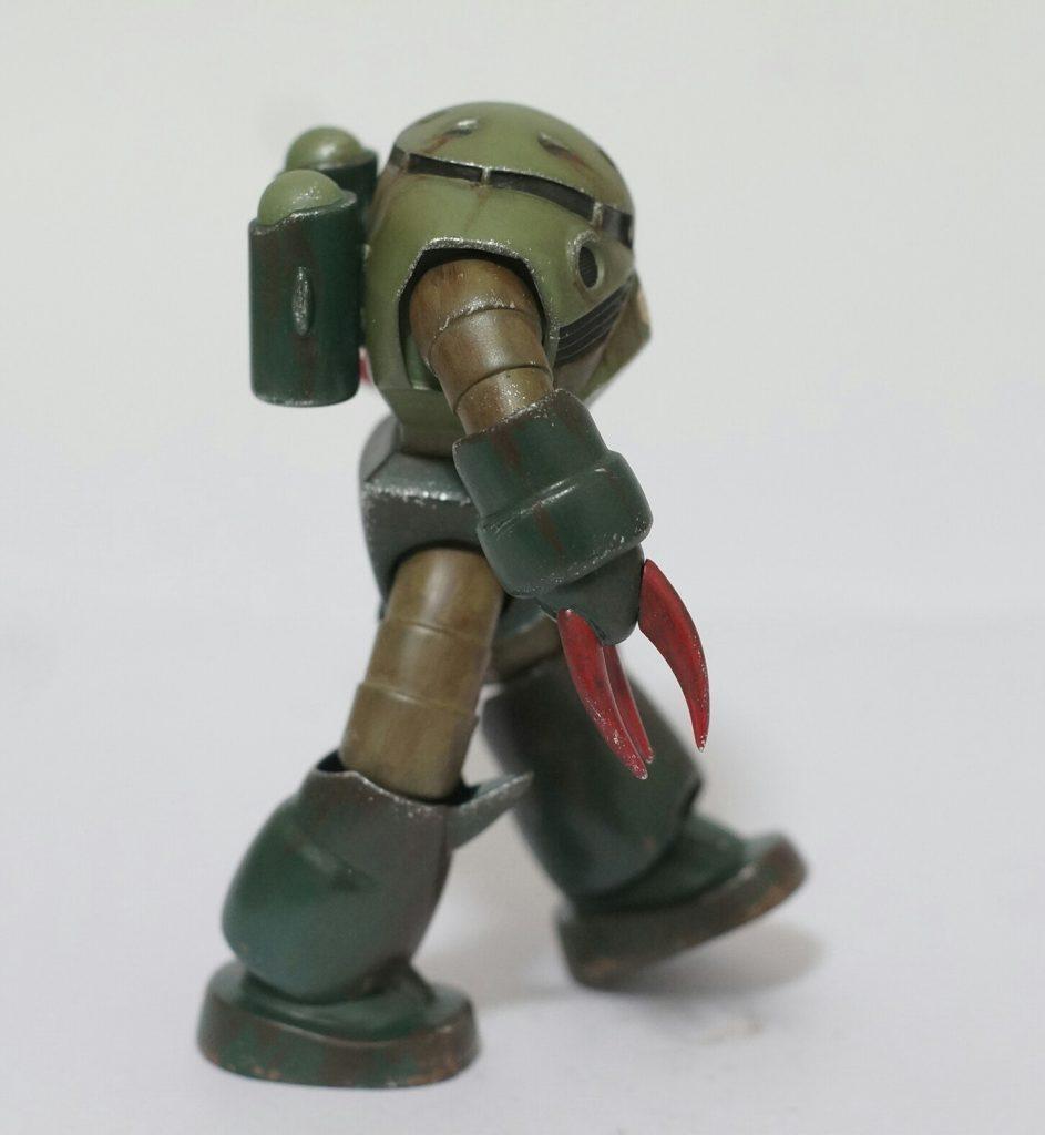 緑のズゴッキ アピールショット1