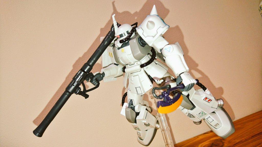 HG MS-06R-1A ZAKUⅡ アピールショット4