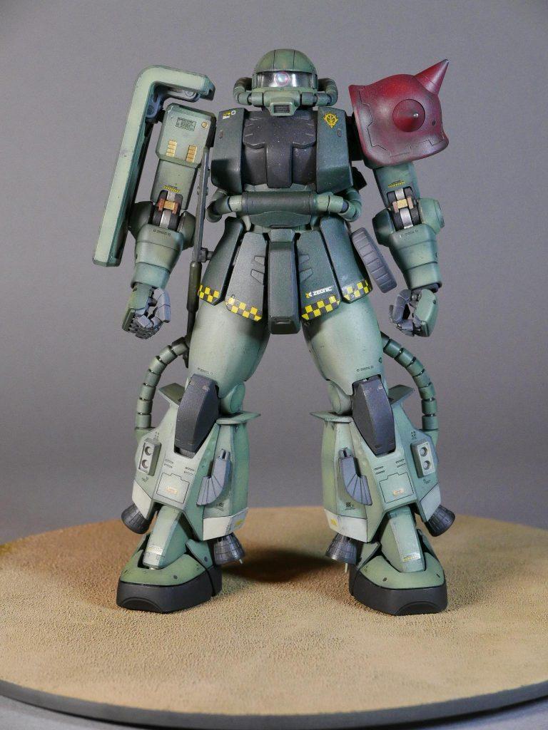 高機動型ザク(アバオワクー防衛)