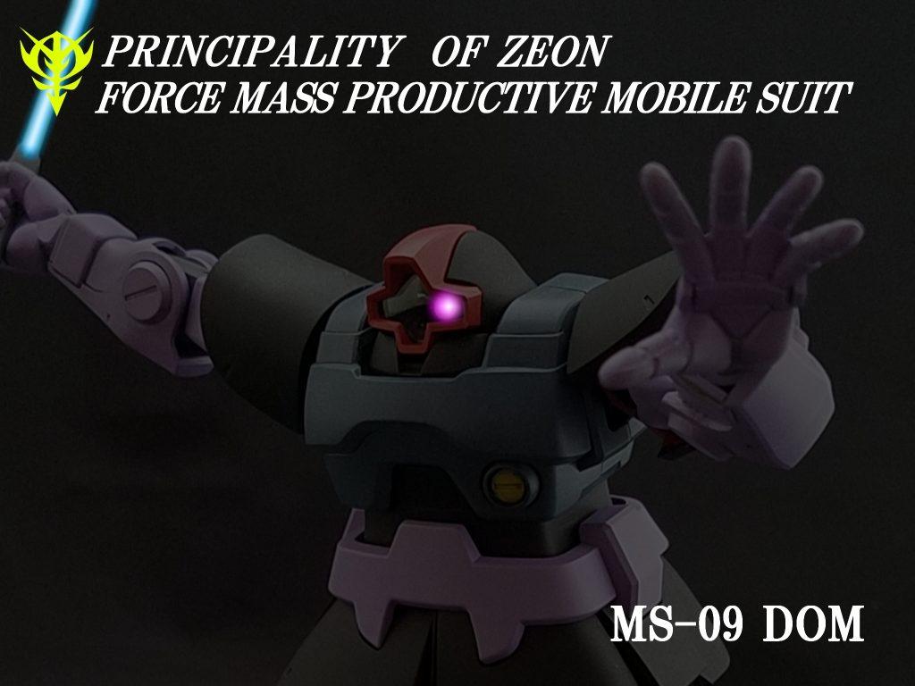 [032]MS-09 ドム / MS-09R リックドム