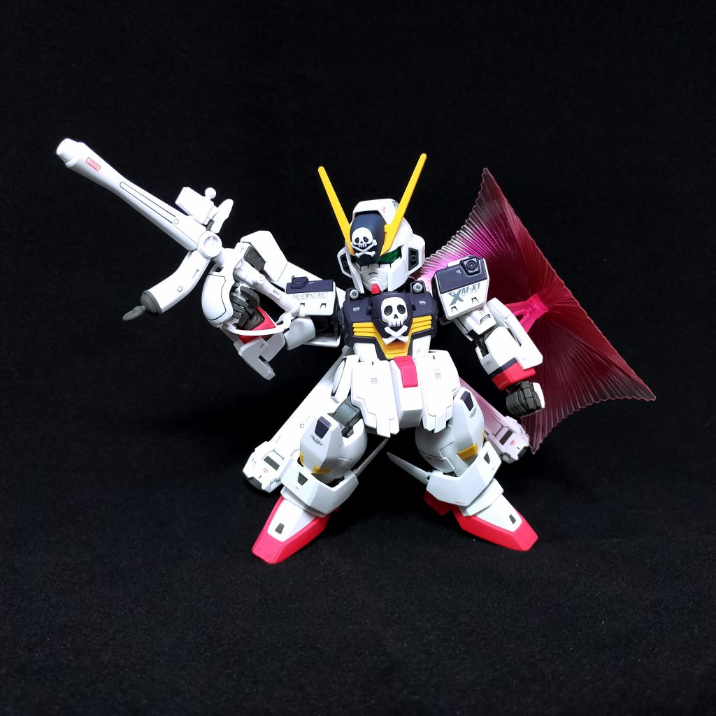 SD Cross Bone Gundam X1 Full Cloth 制作工程2