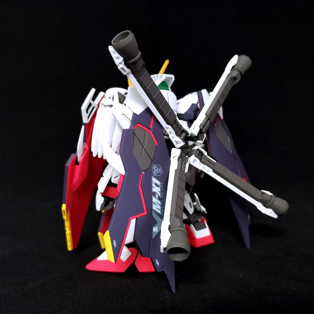 SD Cross Bone Gundam X1 Full Cloth アピールショット3