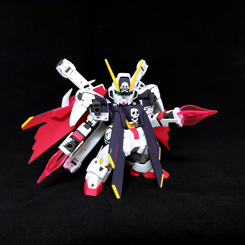 SD Cross Bone Gundam X1 Full Cloth アピールショット2