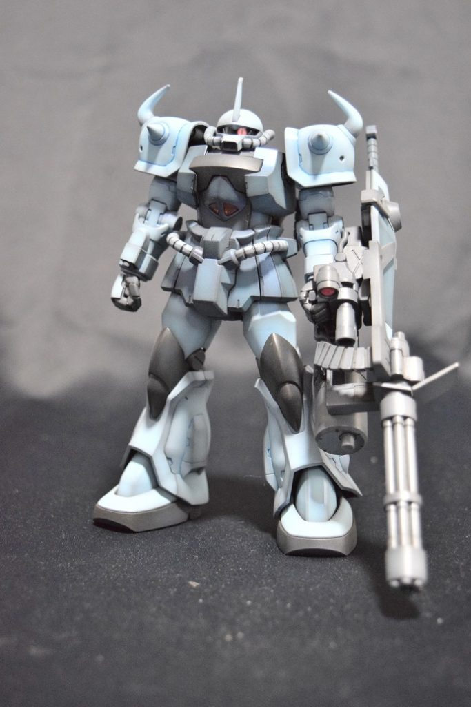 HGUC MS-07B3 グフカスタム アピールショット1
