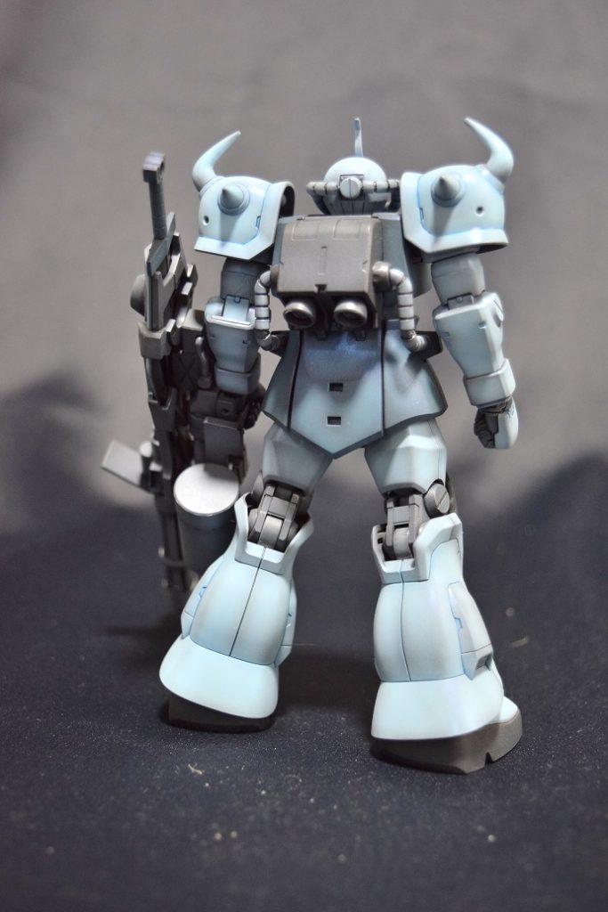 HGUC MS-07B3 グフカスタム アピールショット5