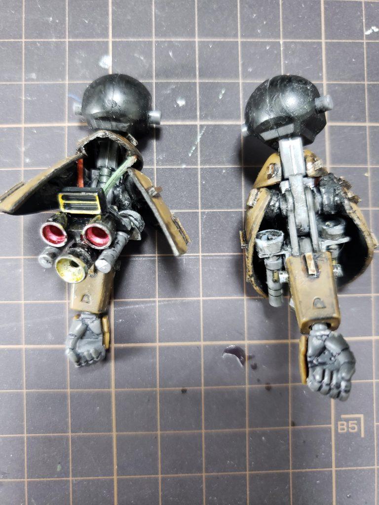 RX-110 ガブスレイ 制作工程1