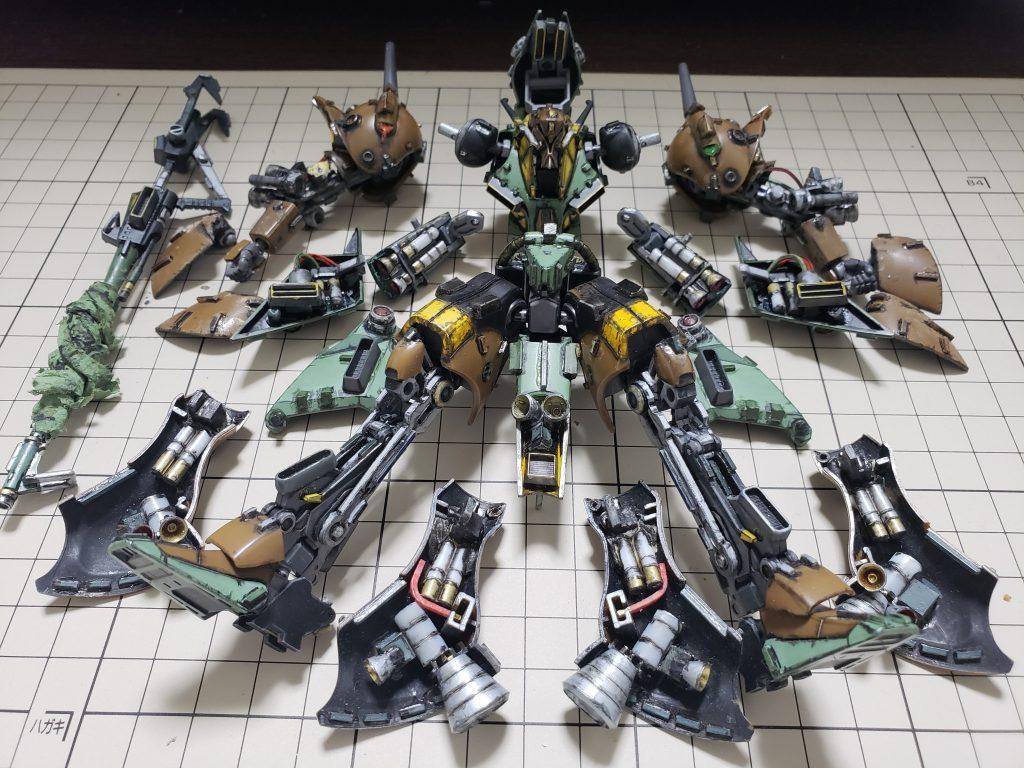 RX-110 ガブスレイ 制作工程4