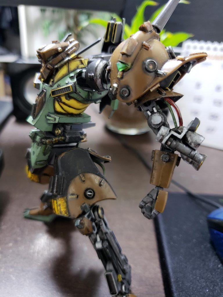 RX-110 ガブスレイ 制作工程3