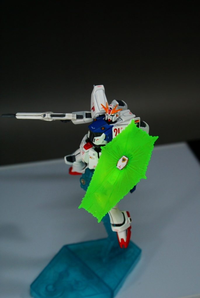 "HGUC F91 ""GUNDAM F91"" アピールショット3"