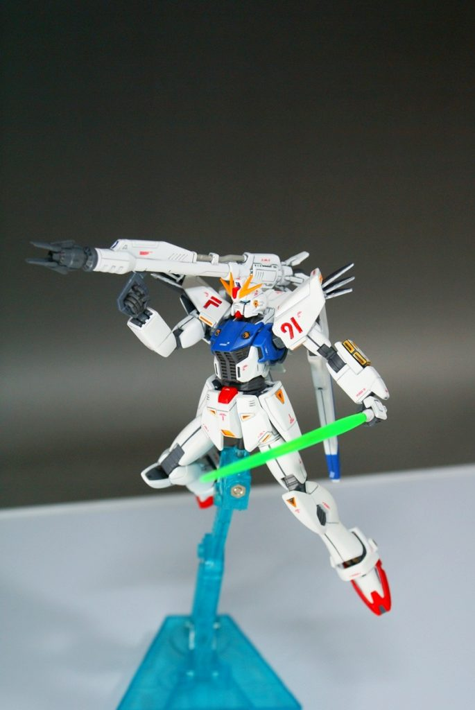 "HGUC F91 ""GUNDAM F91"" アピールショット4"