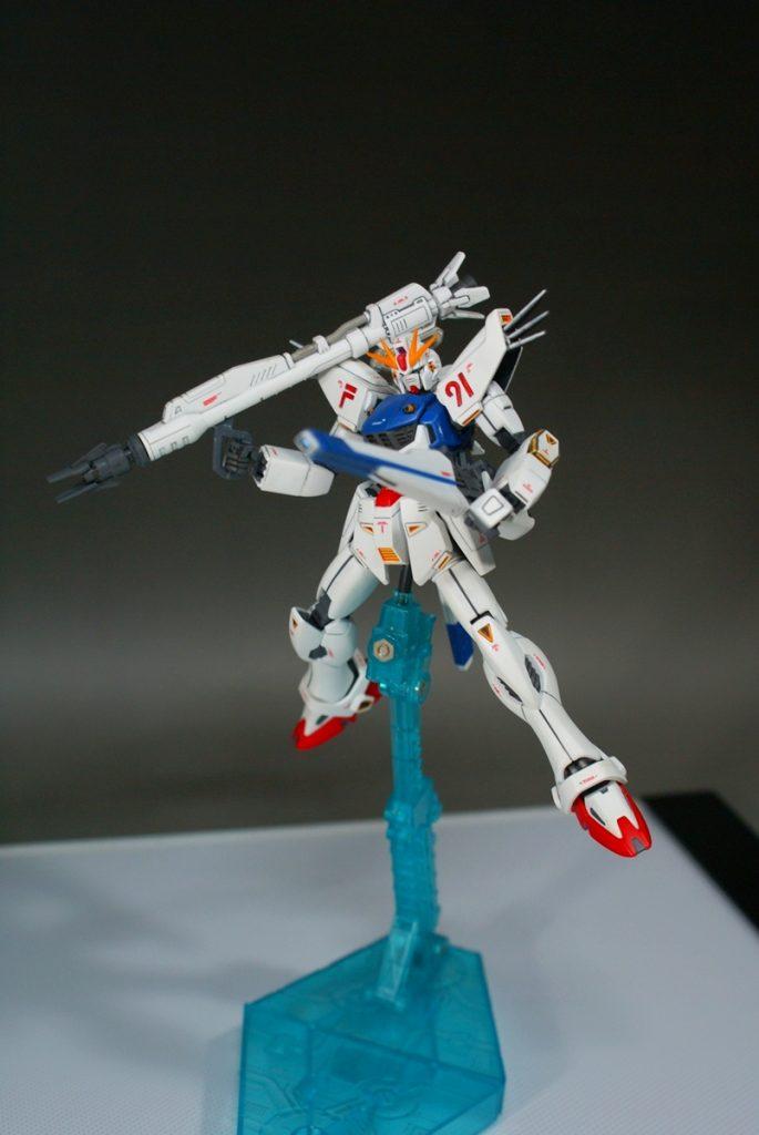 "HGUC F91 ""GUNDAM F91"" アピールショット5"