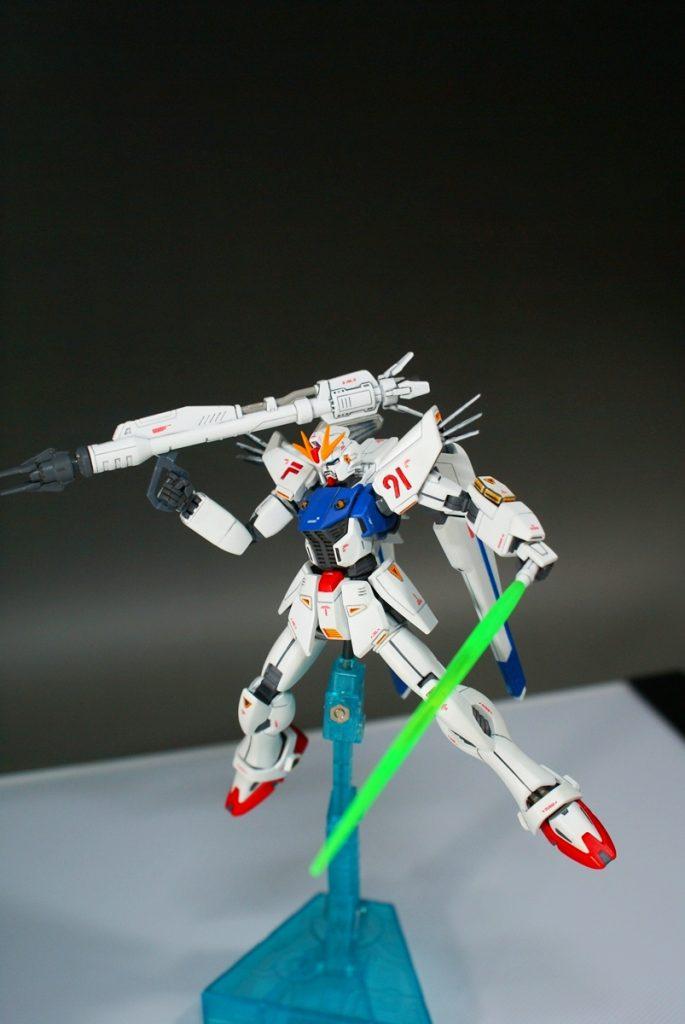 "HGUC F91 ""GUNDAM F91"" アピールショット6"