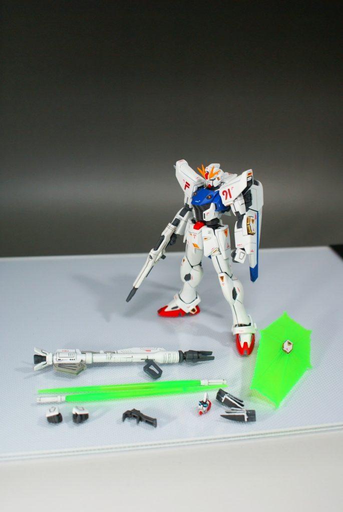 "HGUC F91 ""GUNDAM F91"" アピールショット7"
