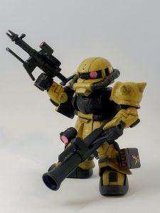SDCS ザクII(連邦カラー)