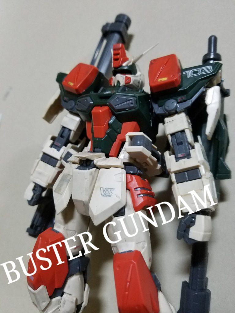 MG 1/100 BUSTER GUNDAM アピールショット1