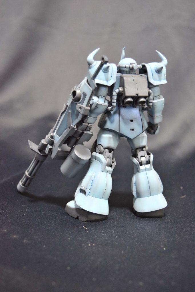 HGUC MS-07B3 グフカスタム アピールショット4