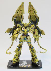 MG ユニコーンガンダム3号機 フェネクス(ナラティブVer.)【ニコイチ制作】