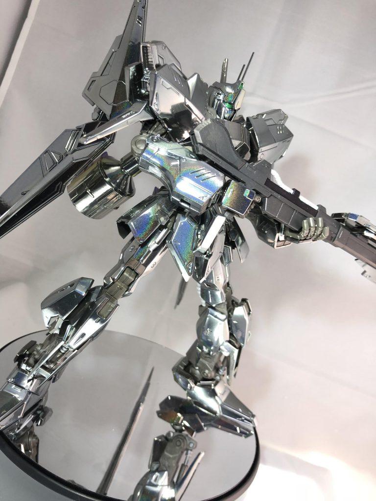 百式壊・メッキペイント(エアーブラシ アピールショット7