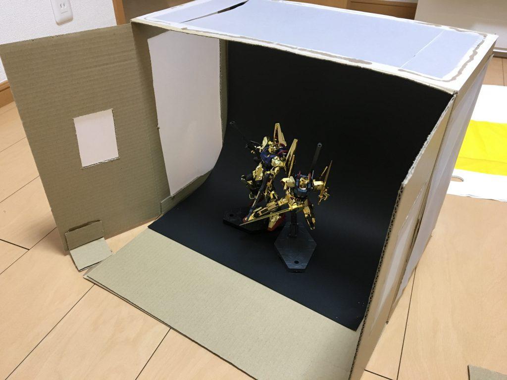 メッキ百式+ゴールドコーティング百式 制作工程1