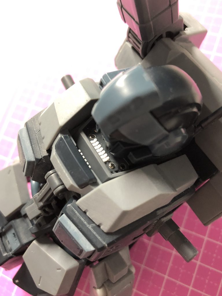 RGM-96X JESTA CANNON 制作工程1