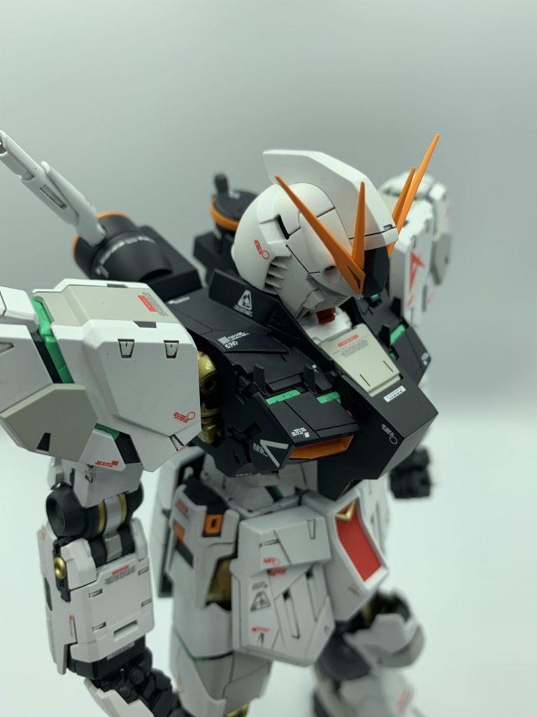 MG νガンダムVer.Ka アピールショット4