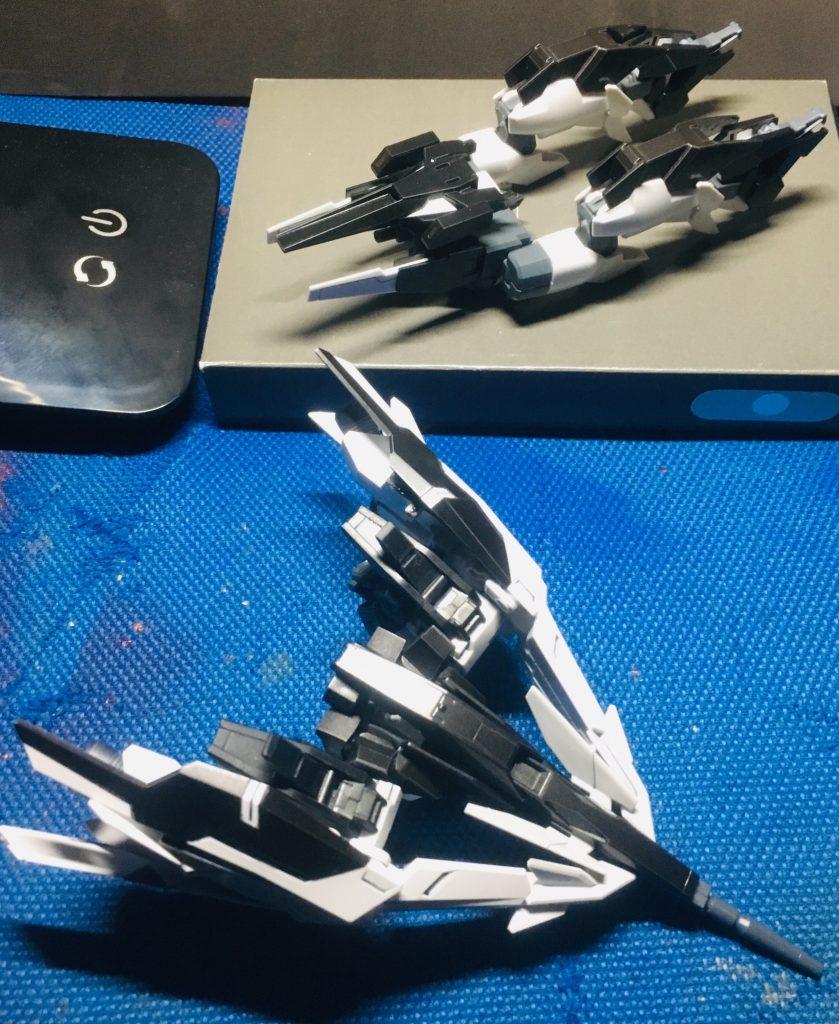 ガンダムAGE-2 ダークLD 制作工程4
