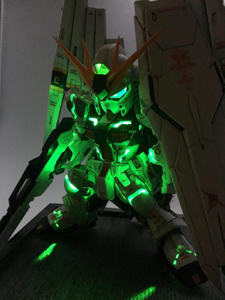FULL MIXING&FULL LIGHTING SD ν GUNDAM 制作工程8