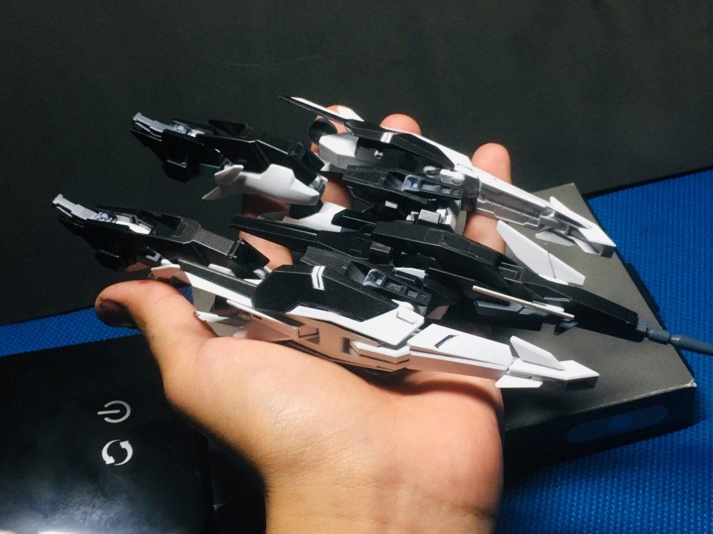 ガンダムAGE-2 ダークLD 制作工程2