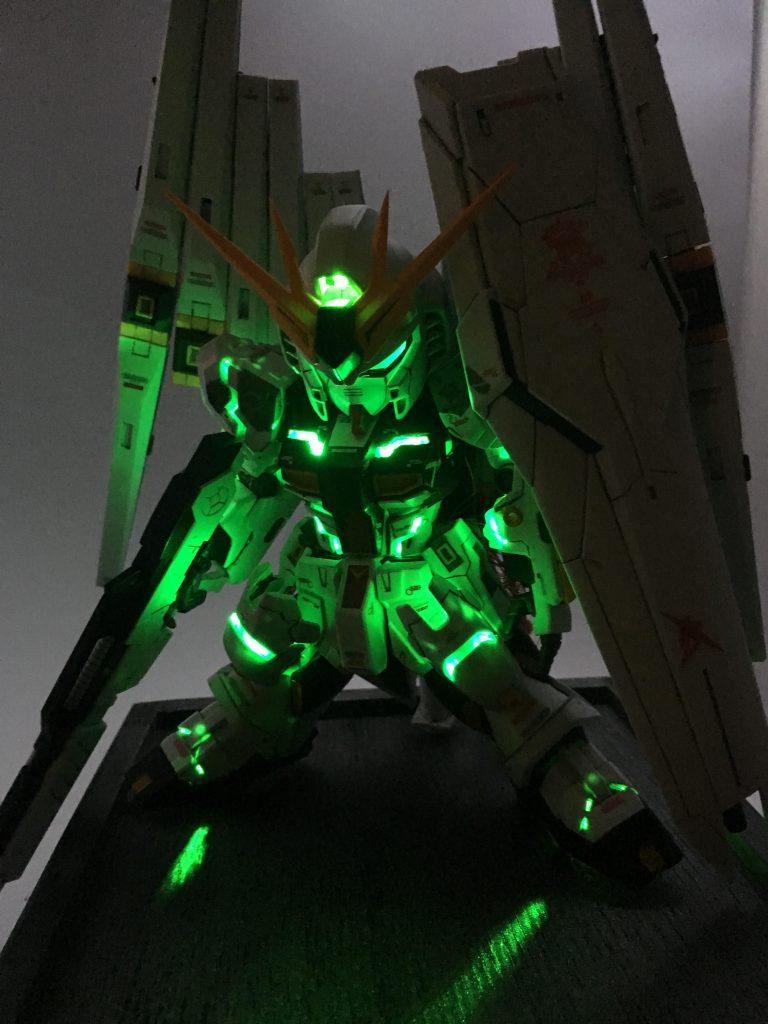 FULL MIXING&FULL LIGHTING SD ν GUNDAM 制作工程7