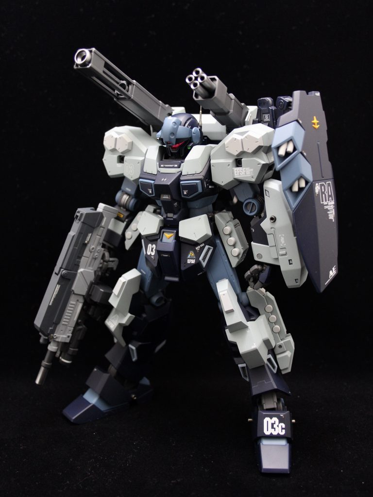 RGM-96X JESTA CANNON アピールショット2
