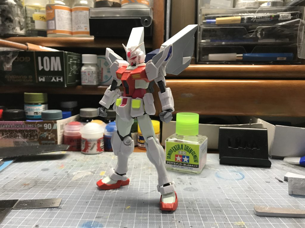 RX-78N-2 Nexus 制作工程1