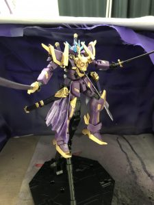 クロスボーンガンダム 六紫機(ロクシキ)