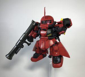 SDジョニーライデン専用ザクⅡ