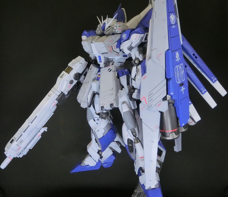 MGHi-νガンダム HWS アピールショット1