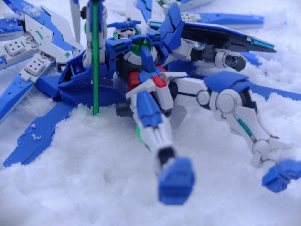 雪原の上で アピールショット2