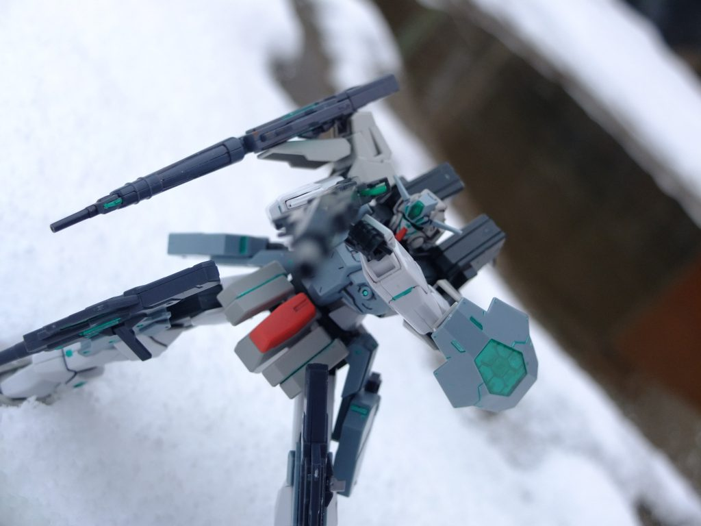 雪原の上で アピールショット5
