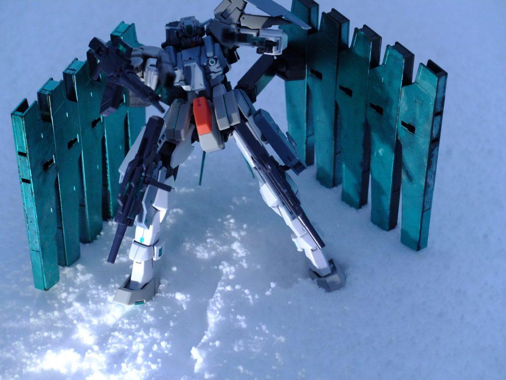 雪原の上で アピールショット8
