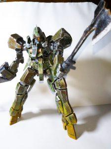 グレイズ1/100 森林戦用