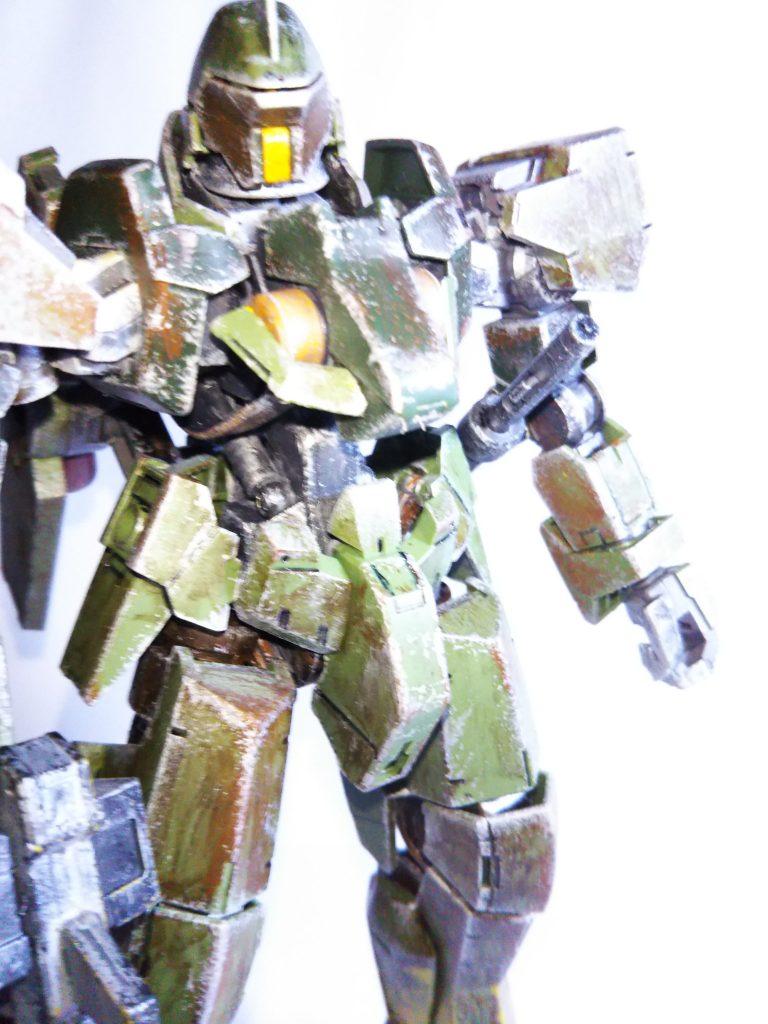 グレイズ1/100 森林戦用 アピールショット3