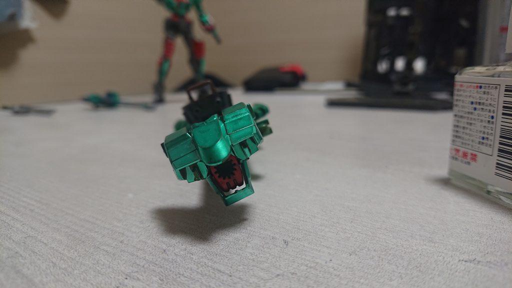 ダブルオーダイバー  射撃進化 制作工程6