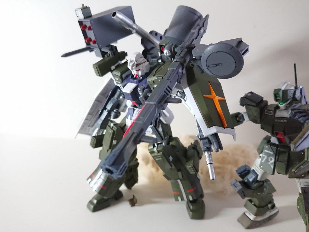 RX-79/sc  サプレッション・ガンダム 制作工程2