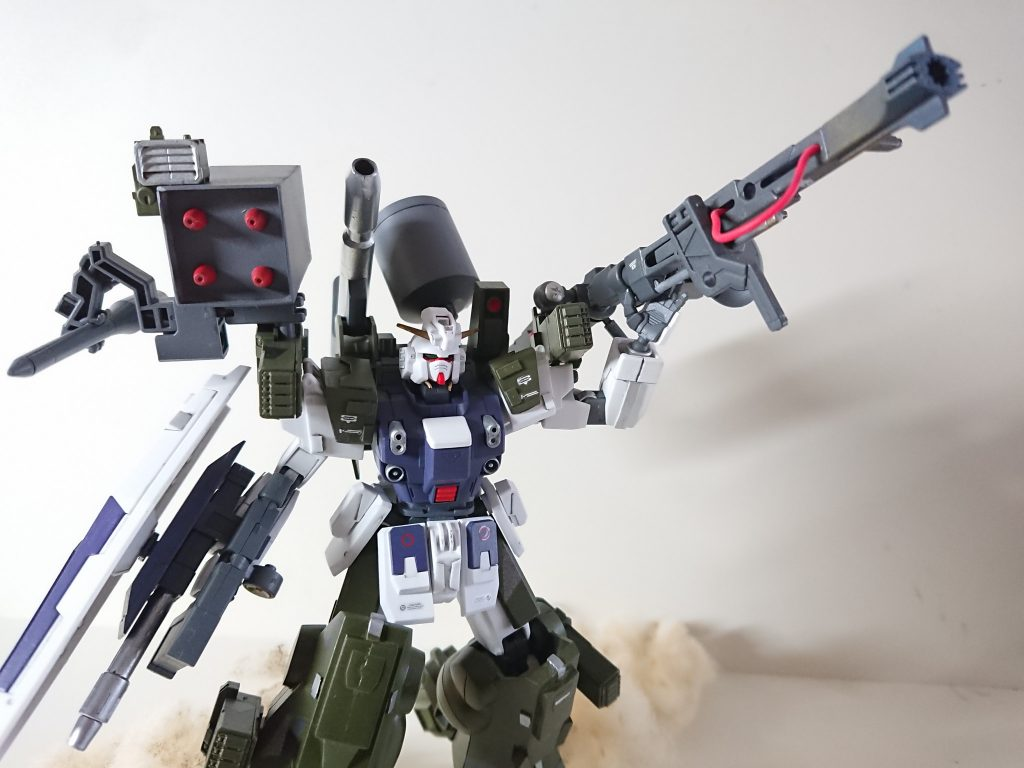 RX-79/sc  サプレッション・ガンダム 制作工程3