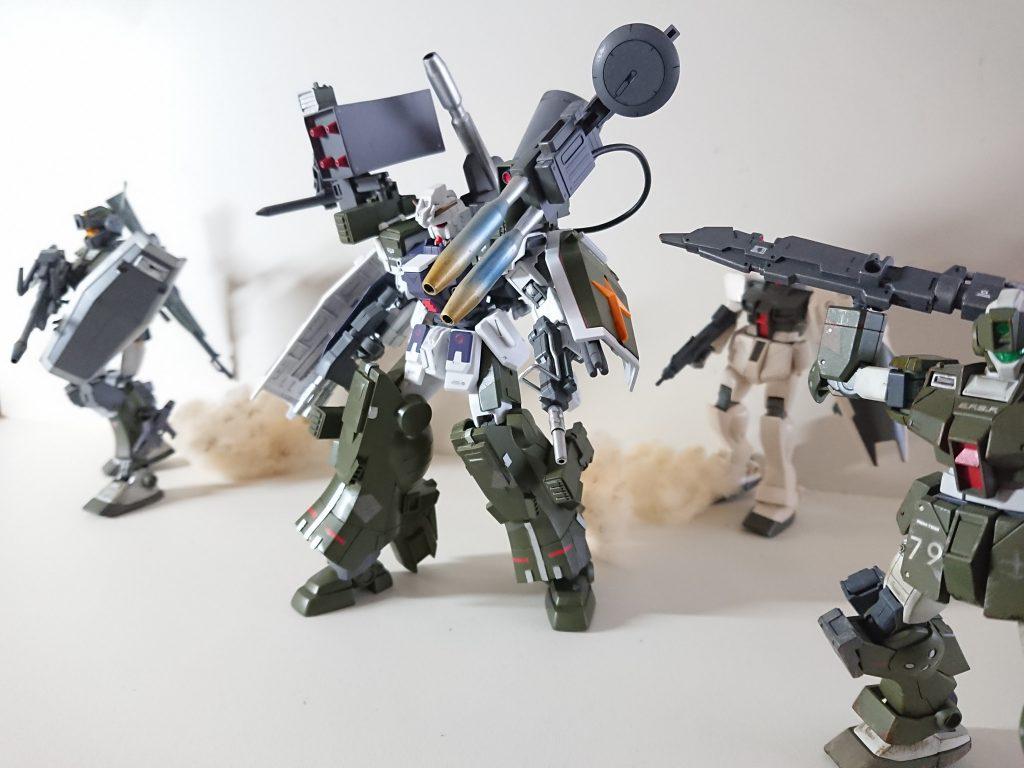 RX-79/sc  サプレッション・ガンダム 制作工程5