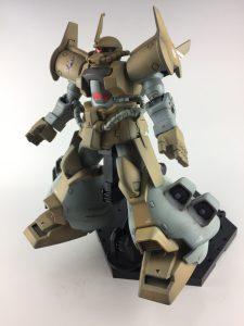 グフフライトタイプ・旧キット(グフ飛行試験型ボックスアート風)