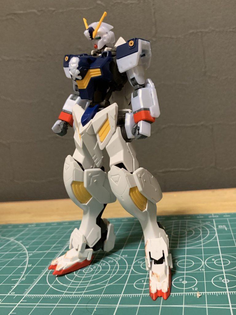 鉄血風クロスボーンガンダムX1 制作工程1