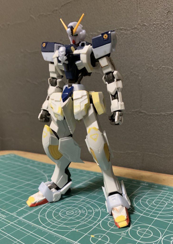 鉄血風クロスボーンガンダムX1 制作工程2