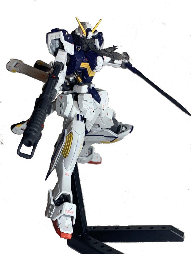 鉄血風クロスボーンガンダムX1 アピールショット3