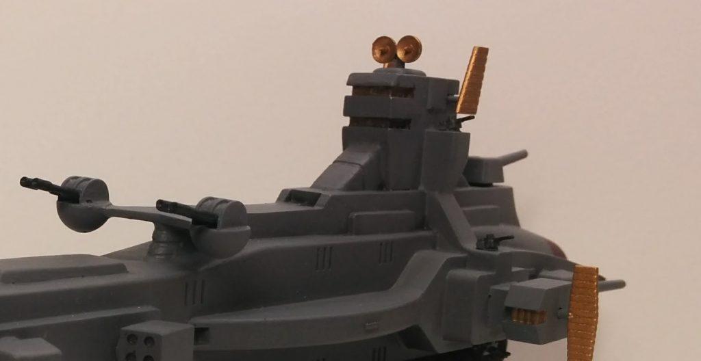1/1200 サラミス級巡洋艦 アピールショット1