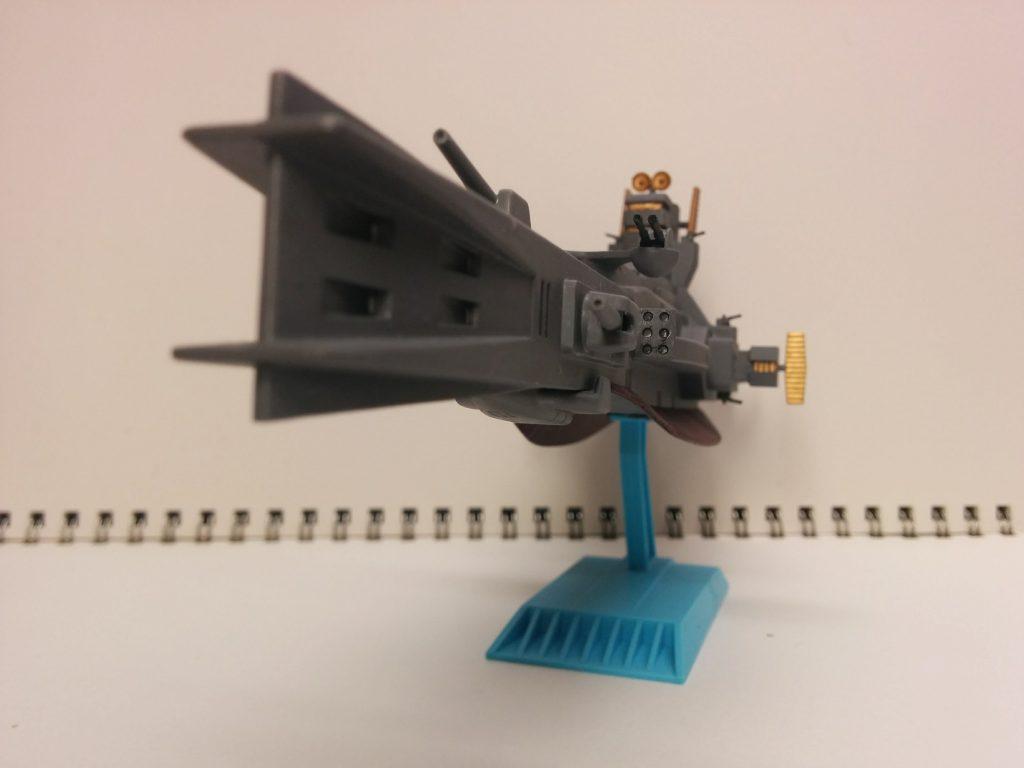 1/1200 サラミス級巡洋艦 アピールショット2