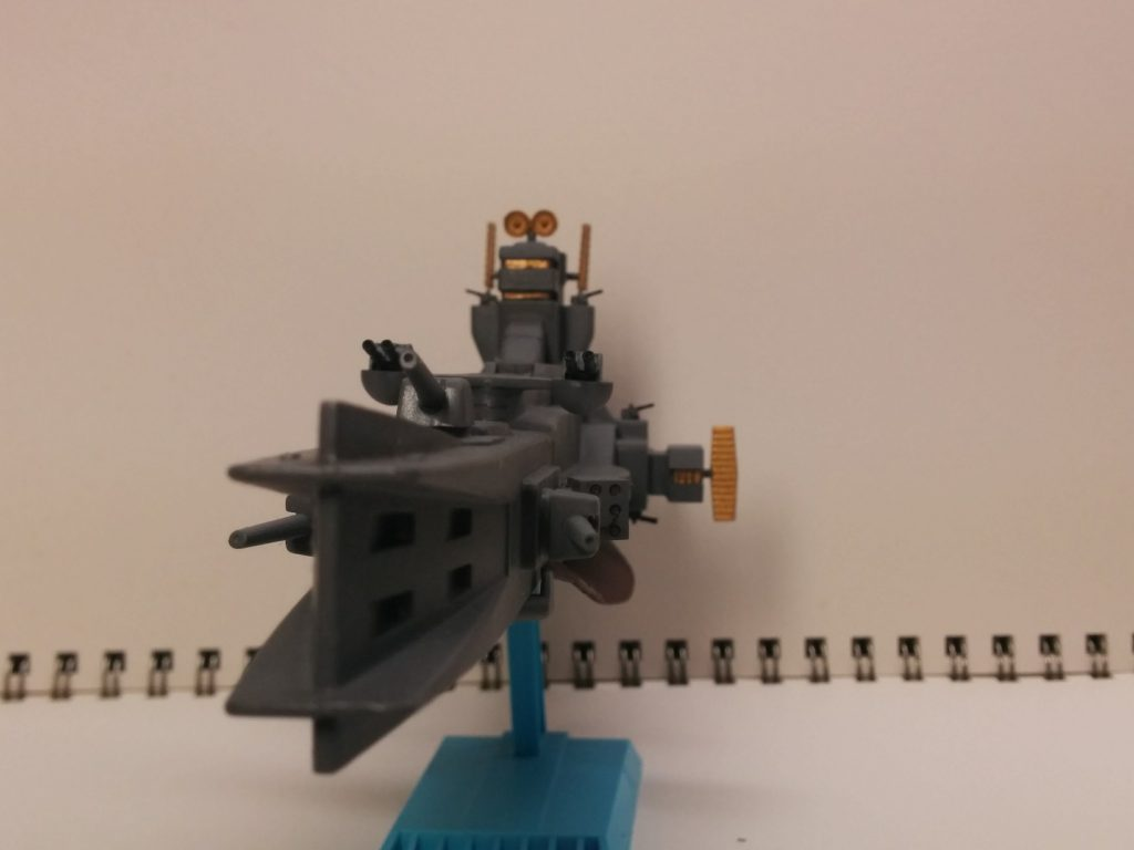 1/1200 サラミス級巡洋艦 アピールショット4